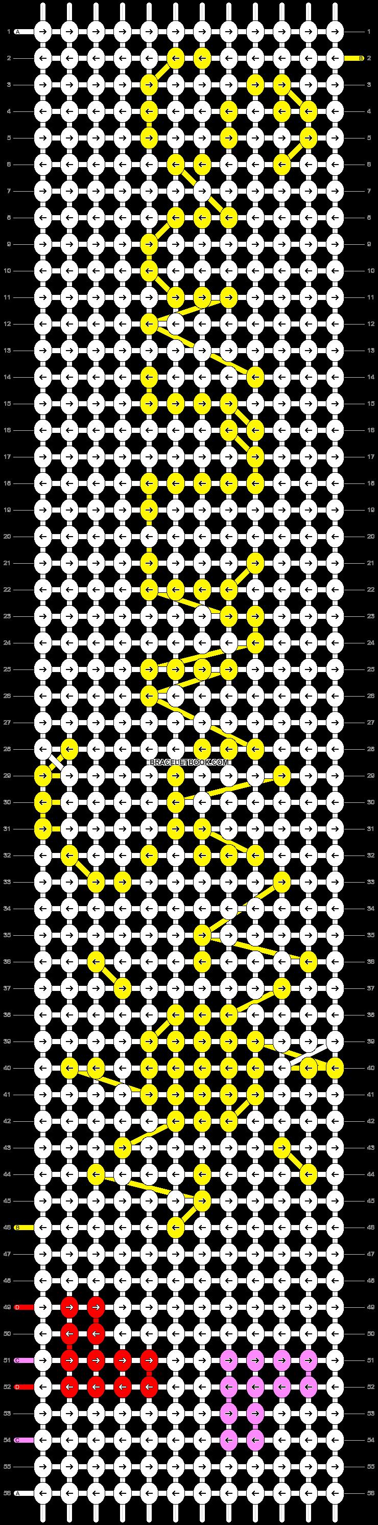Alpha pattern #8056 pattern