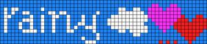 Alpha Friendship Bracelet Pattern #8057