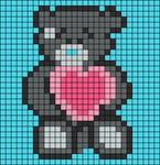 Alpha pattern #8062