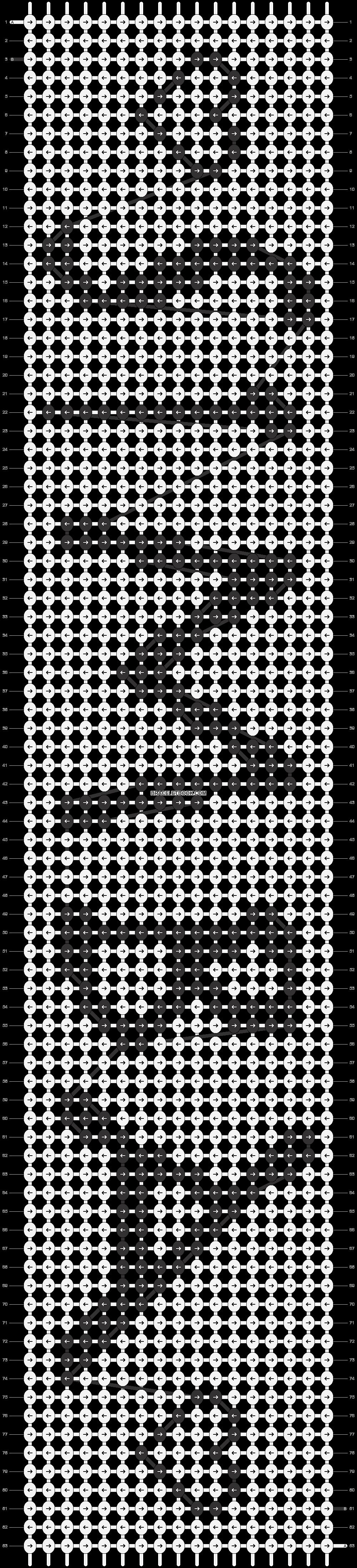Alpha pattern #8063 pattern