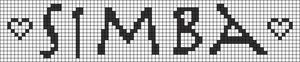 Alpha pattern #8063