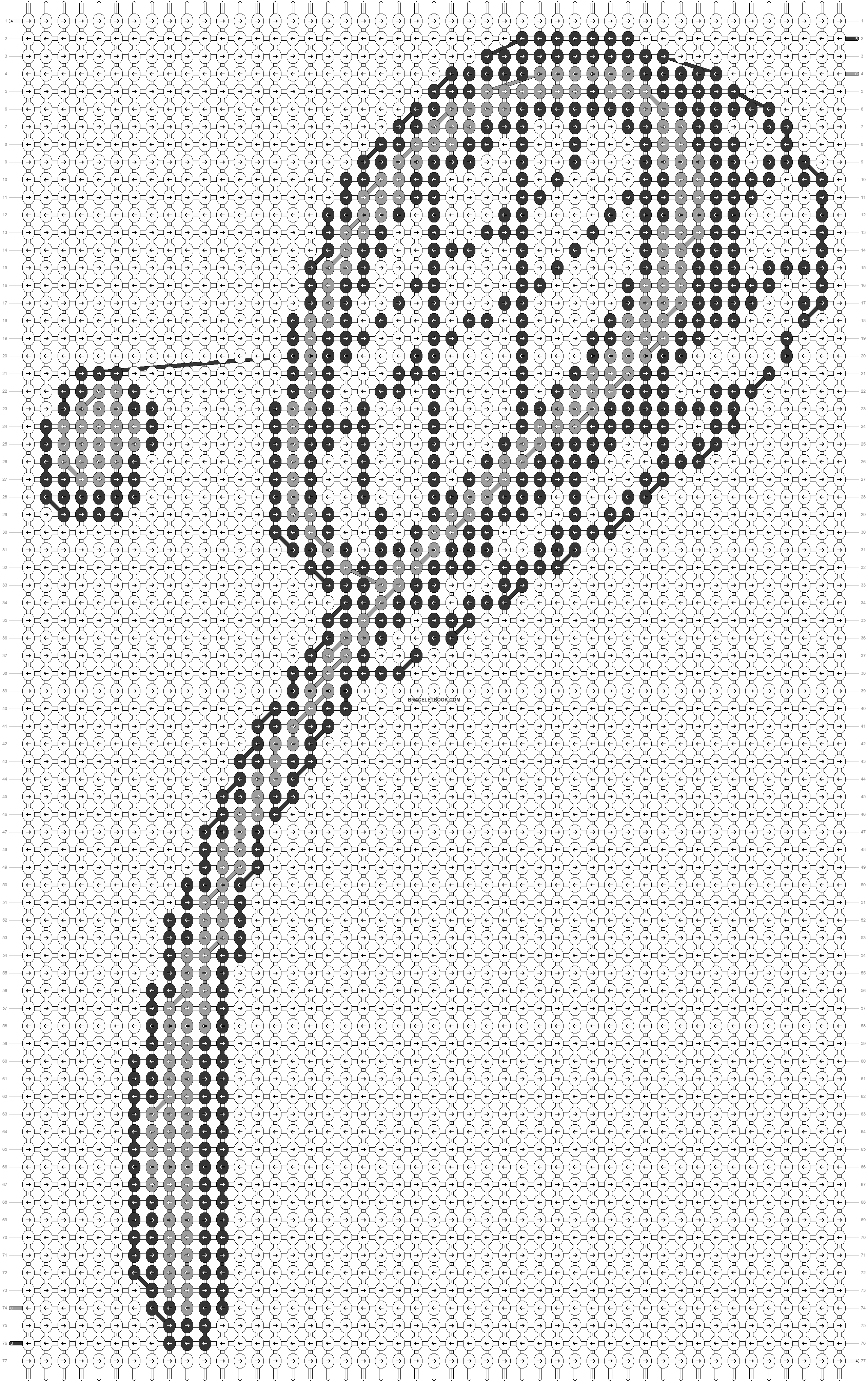 Alpha pattern #8071 pattern