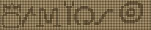Alpha pattern #8072