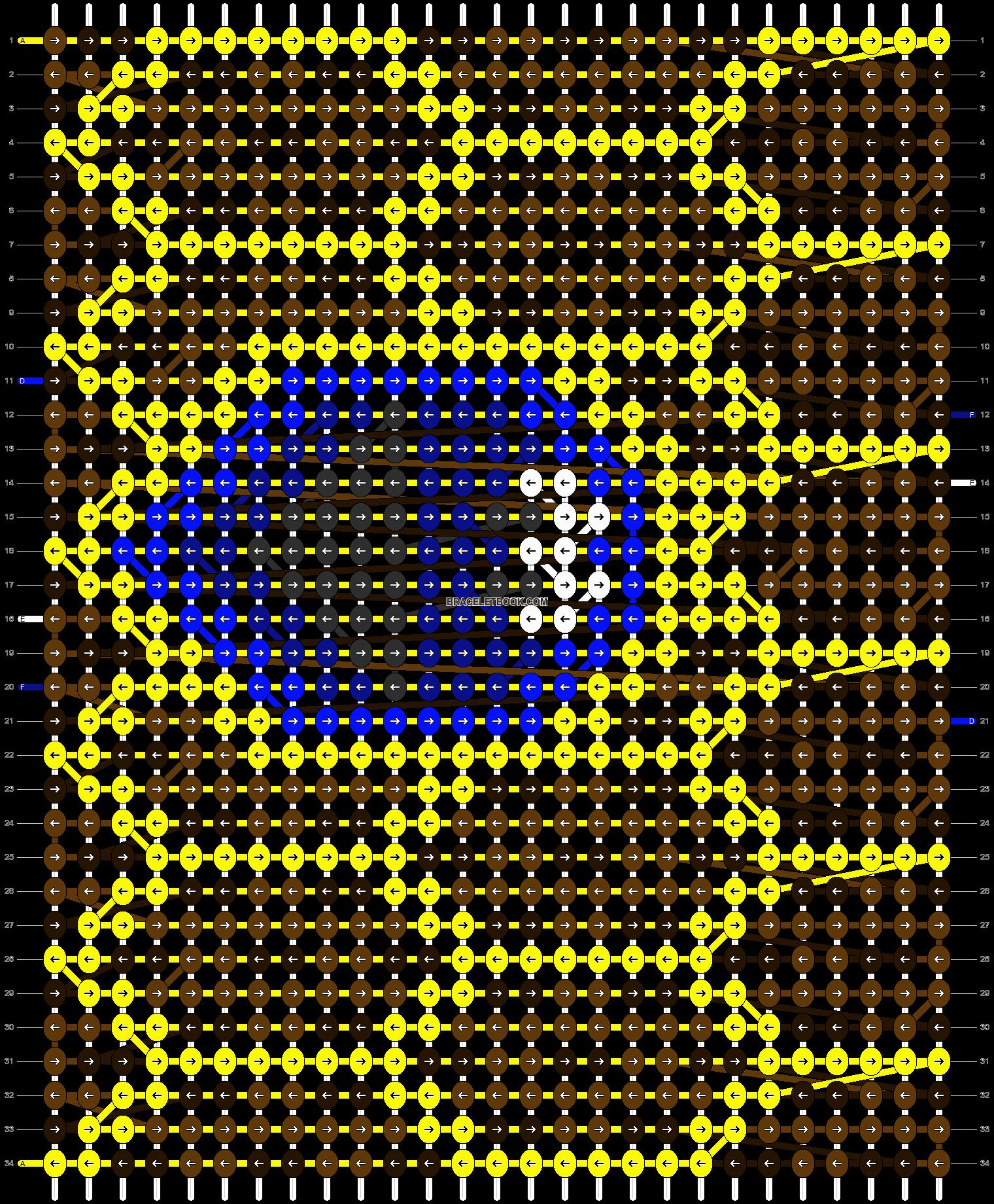 Alpha pattern #8073 pattern