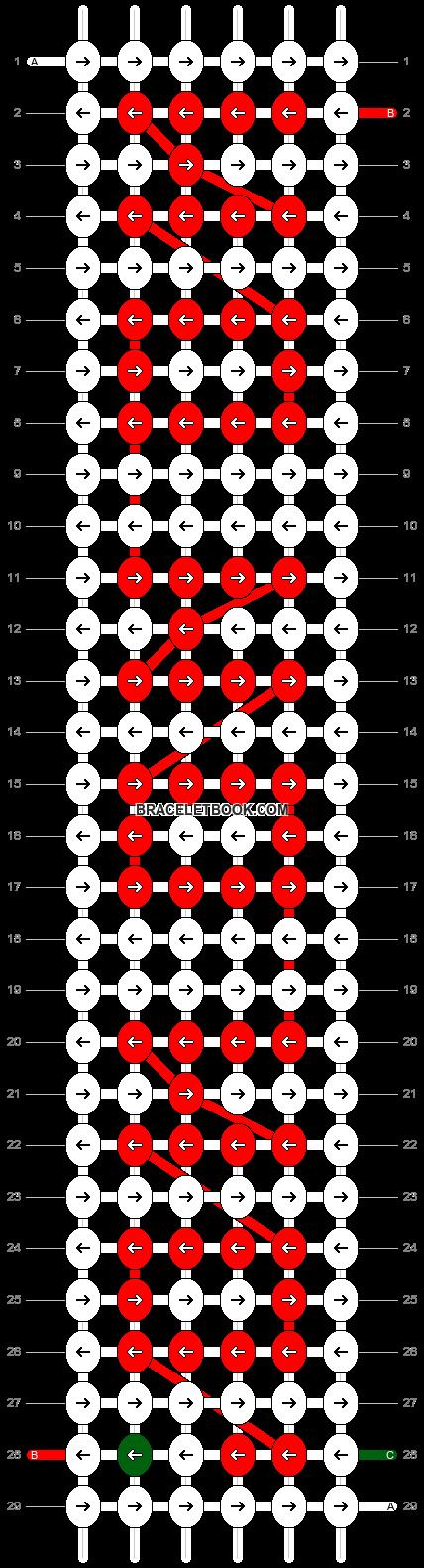 Alpha pattern #8079 pattern