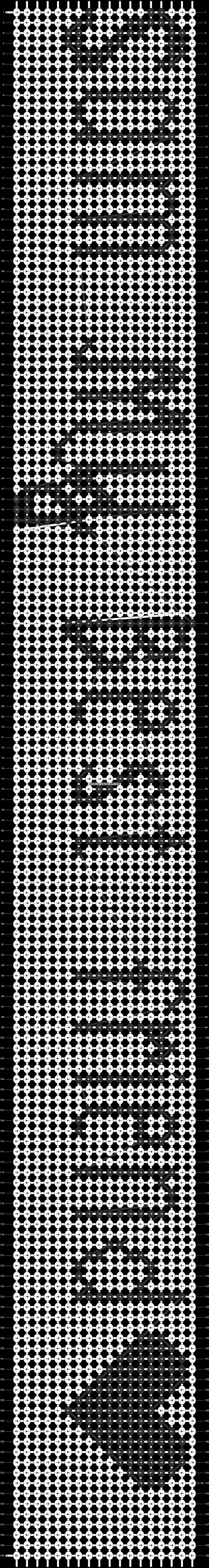 Alpha pattern #8086 pattern