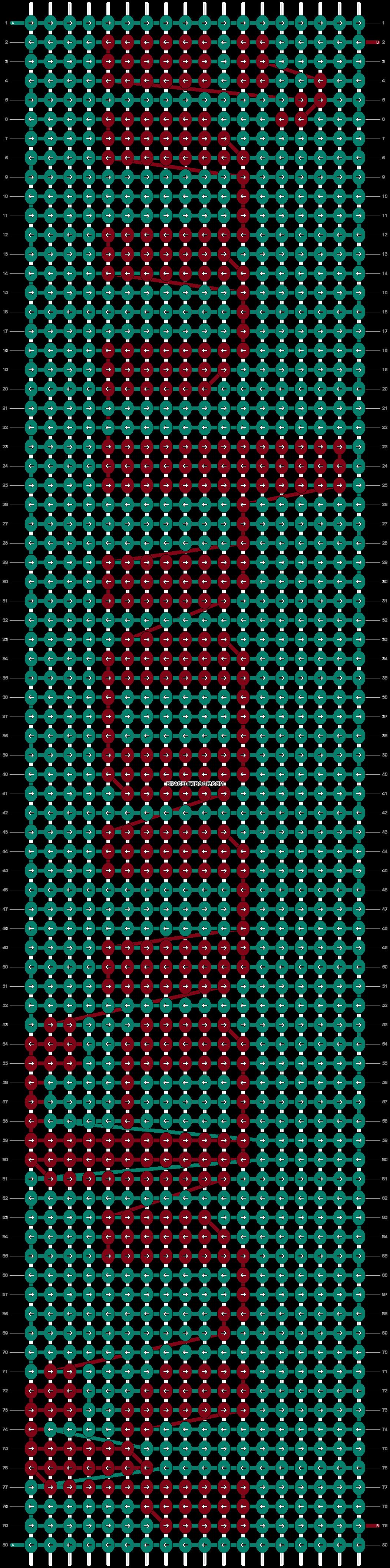 Alpha pattern #8090 pattern