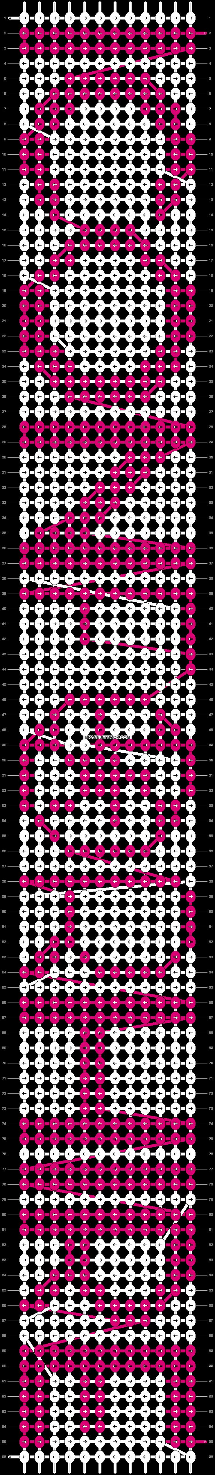 Alpha pattern #8092 pattern