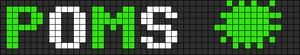 Alpha pattern #8095