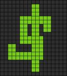Alpha pattern #8100