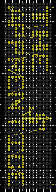 Alpha pattern #8104 pattern