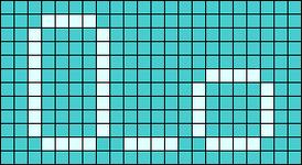 Alpha pattern #8107