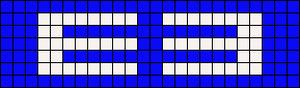Alpha pattern #8120
