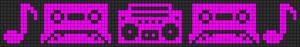 Alpha pattern #8123