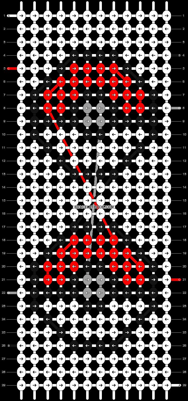 Alpha pattern #8126 pattern