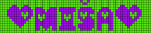 Alpha pattern #8127