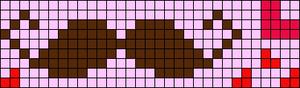 Alpha Friendship Bracelet Pattern #8137