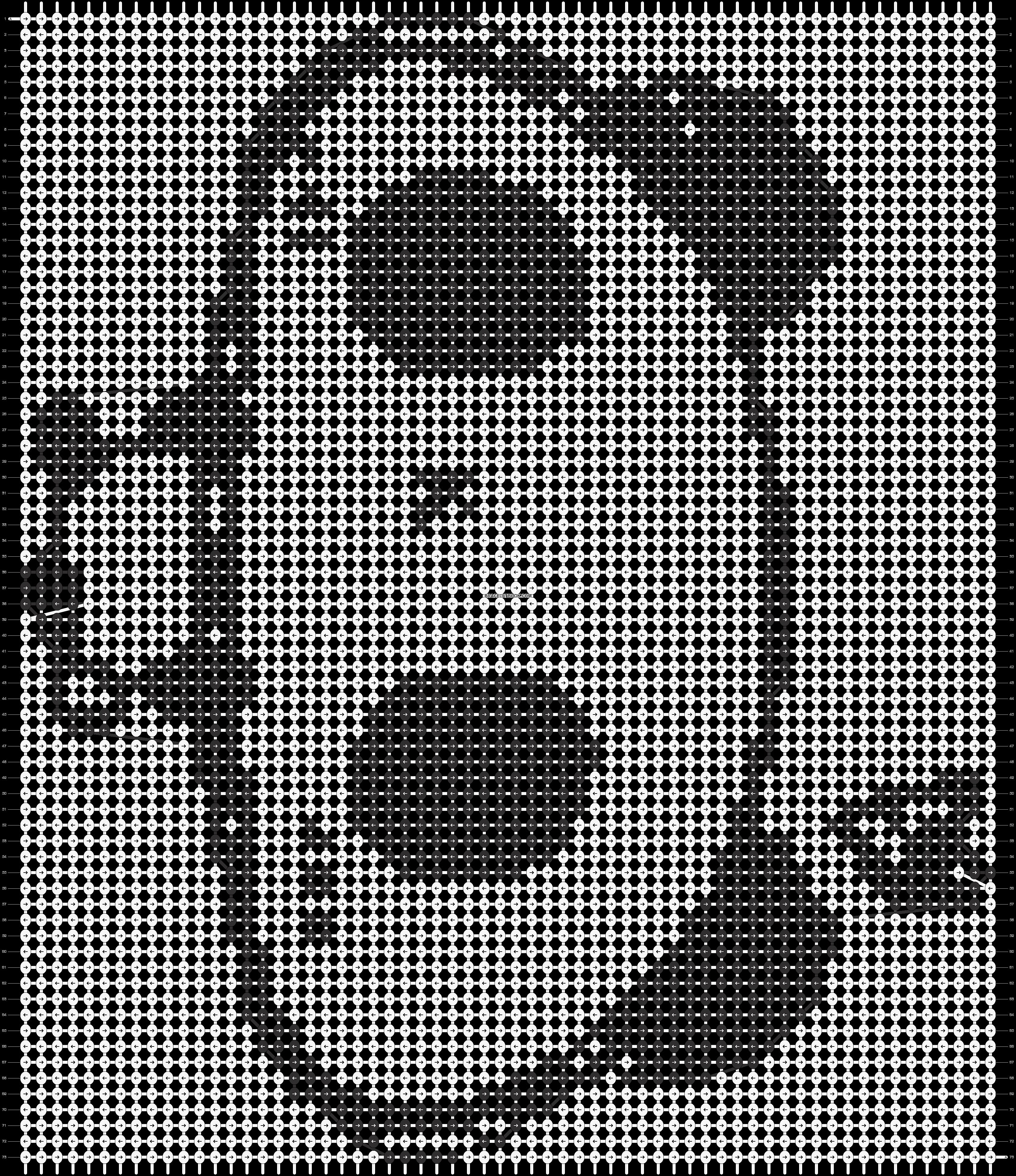 Alpha pattern #8144 pattern