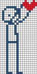 Alpha pattern #8162