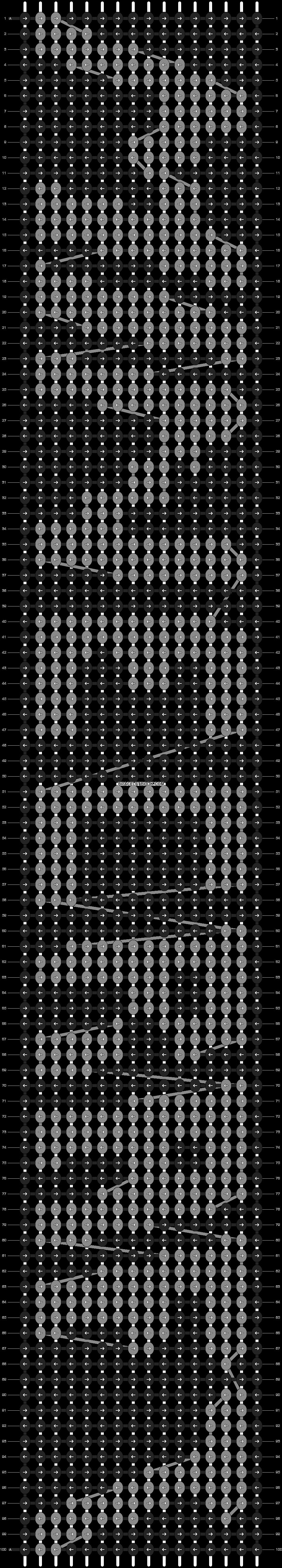 Alpha pattern #8171 pattern