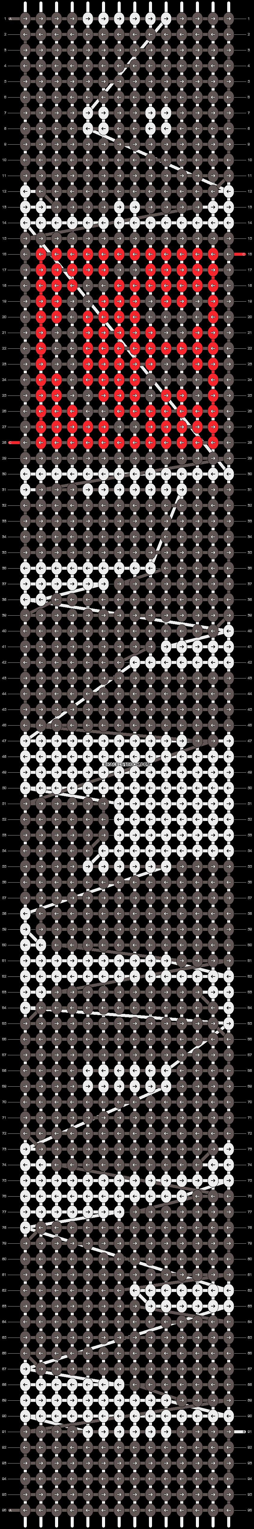 Alpha pattern #8175 pattern