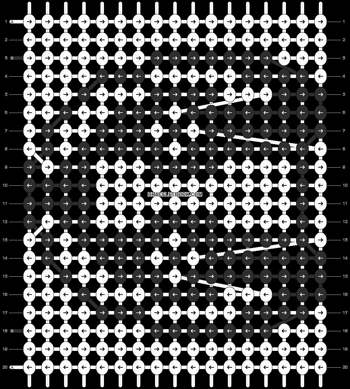 Alpha pattern #8177 pattern