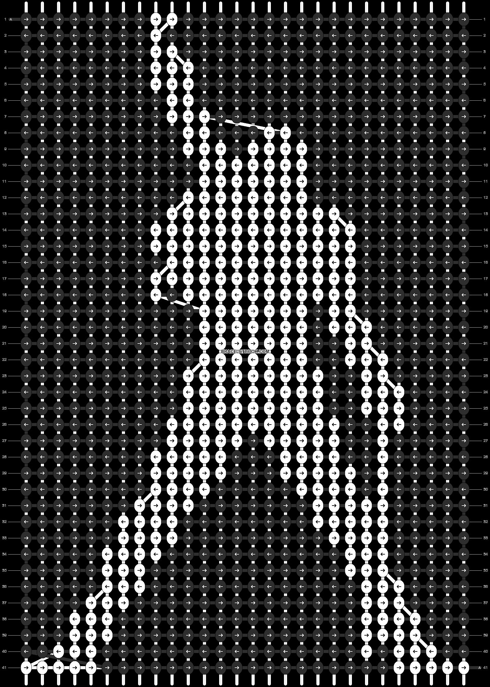 Alpha pattern #8180 pattern