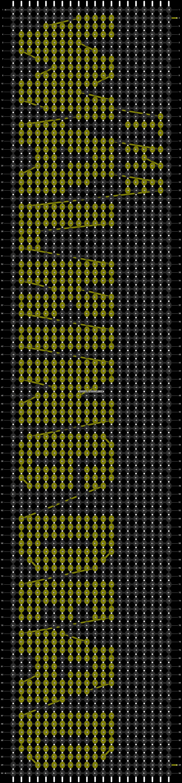 Alpha pattern #8188 pattern