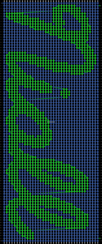Alpha pattern #8203 pattern