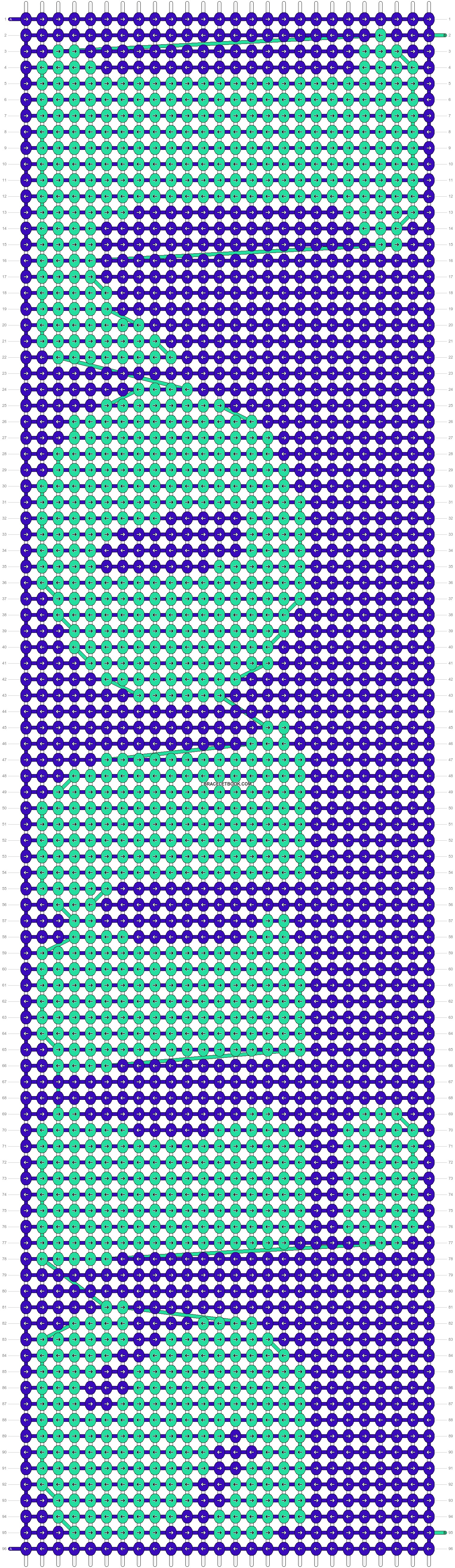 Alpha pattern #8204 pattern
