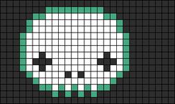Alpha pattern #8208
