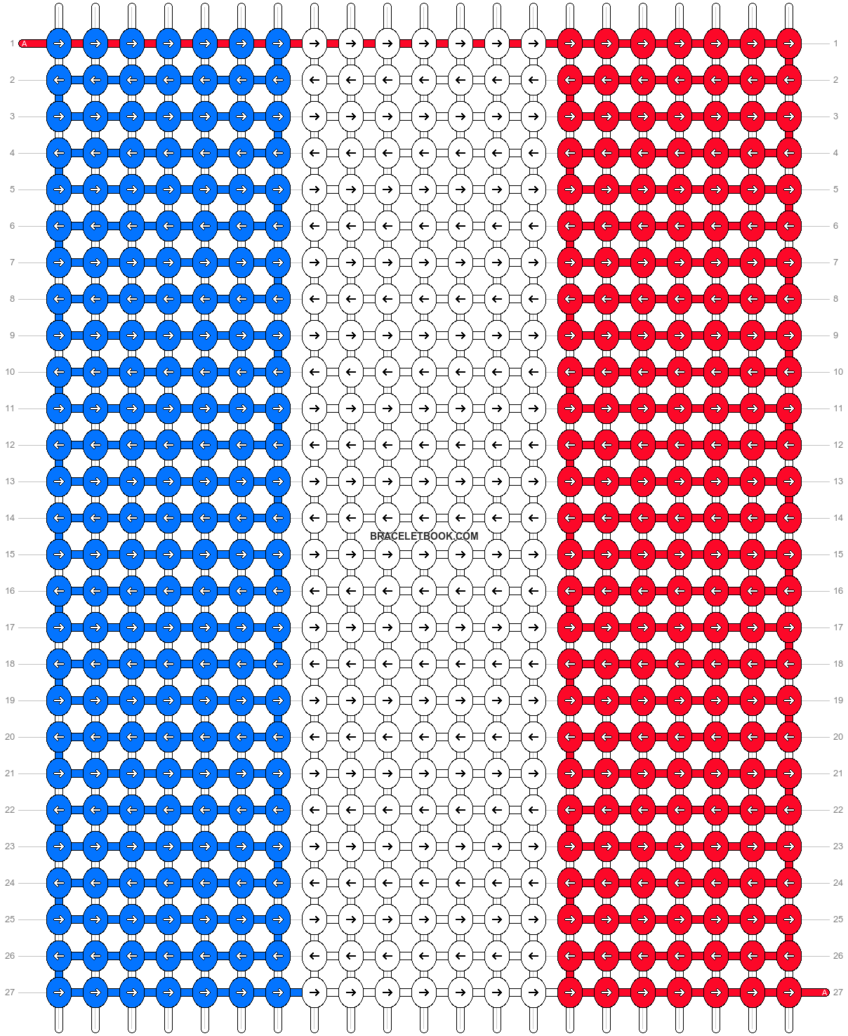 Alpha pattern #8212 pattern