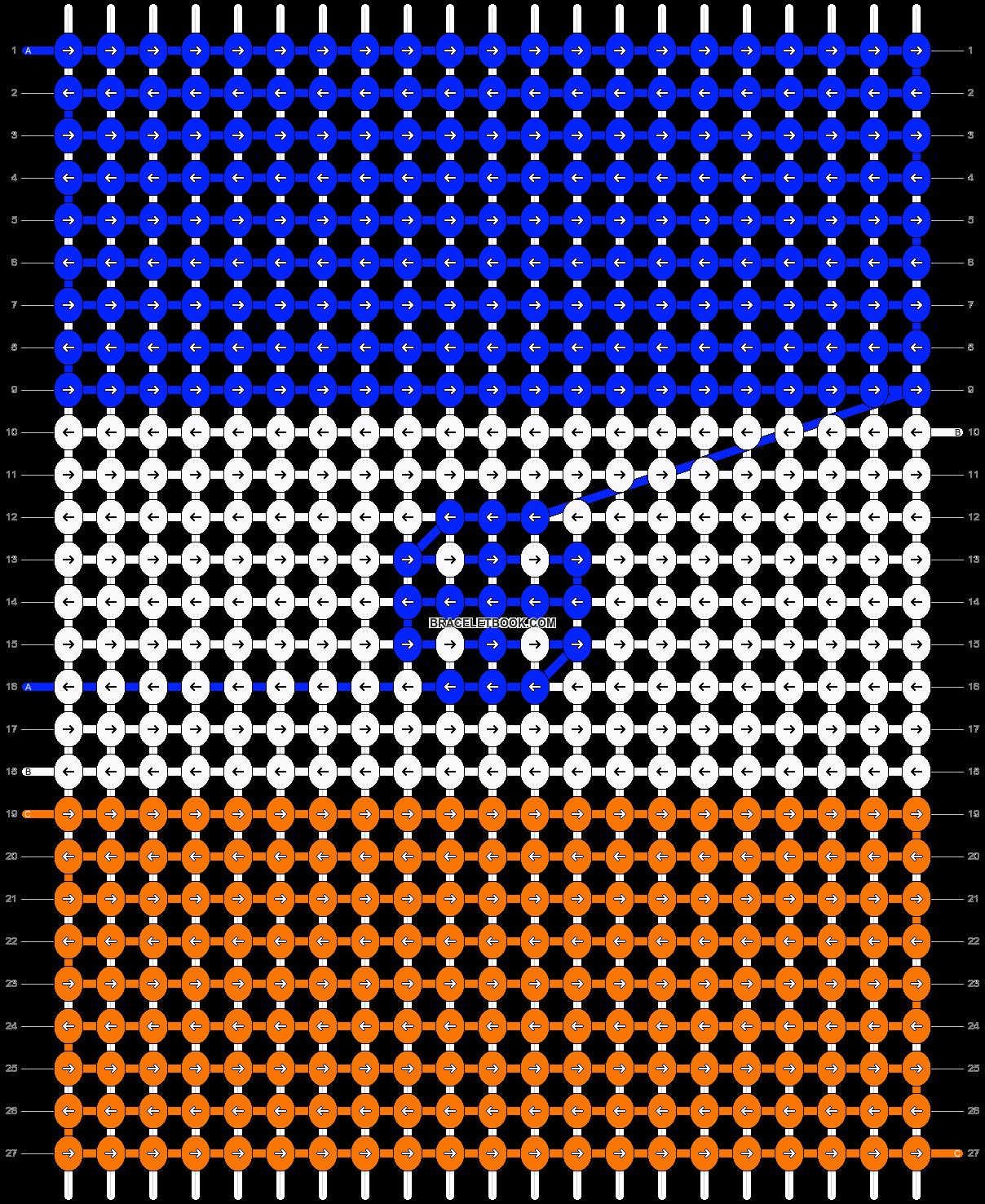 Alpha pattern #8213 pattern