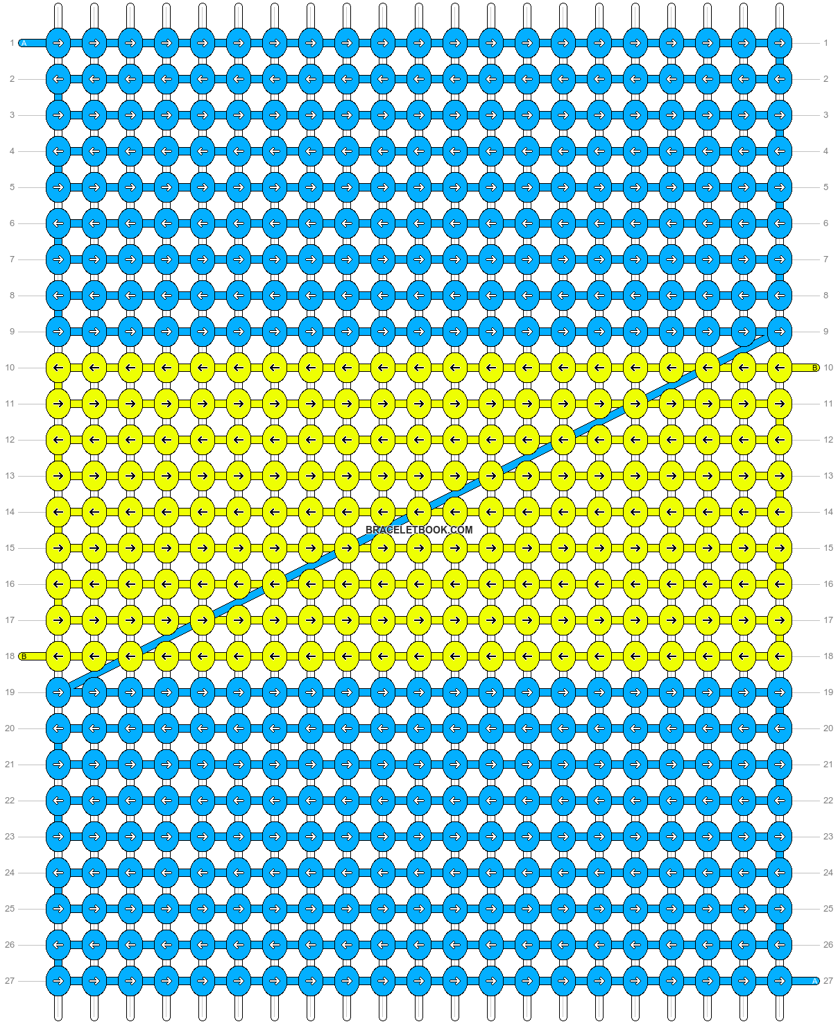 Alpha pattern #8214 pattern