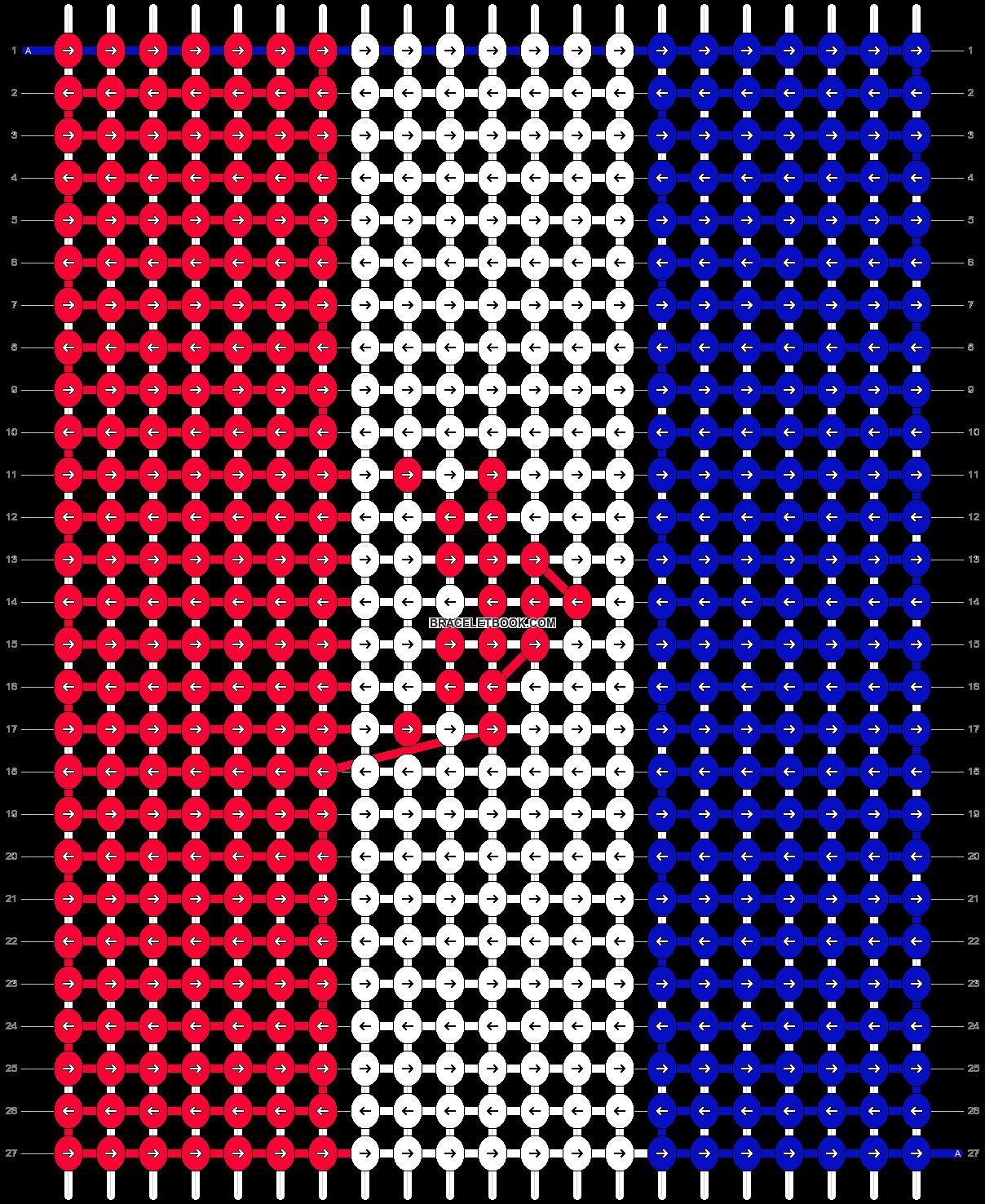 Alpha pattern #8215 pattern