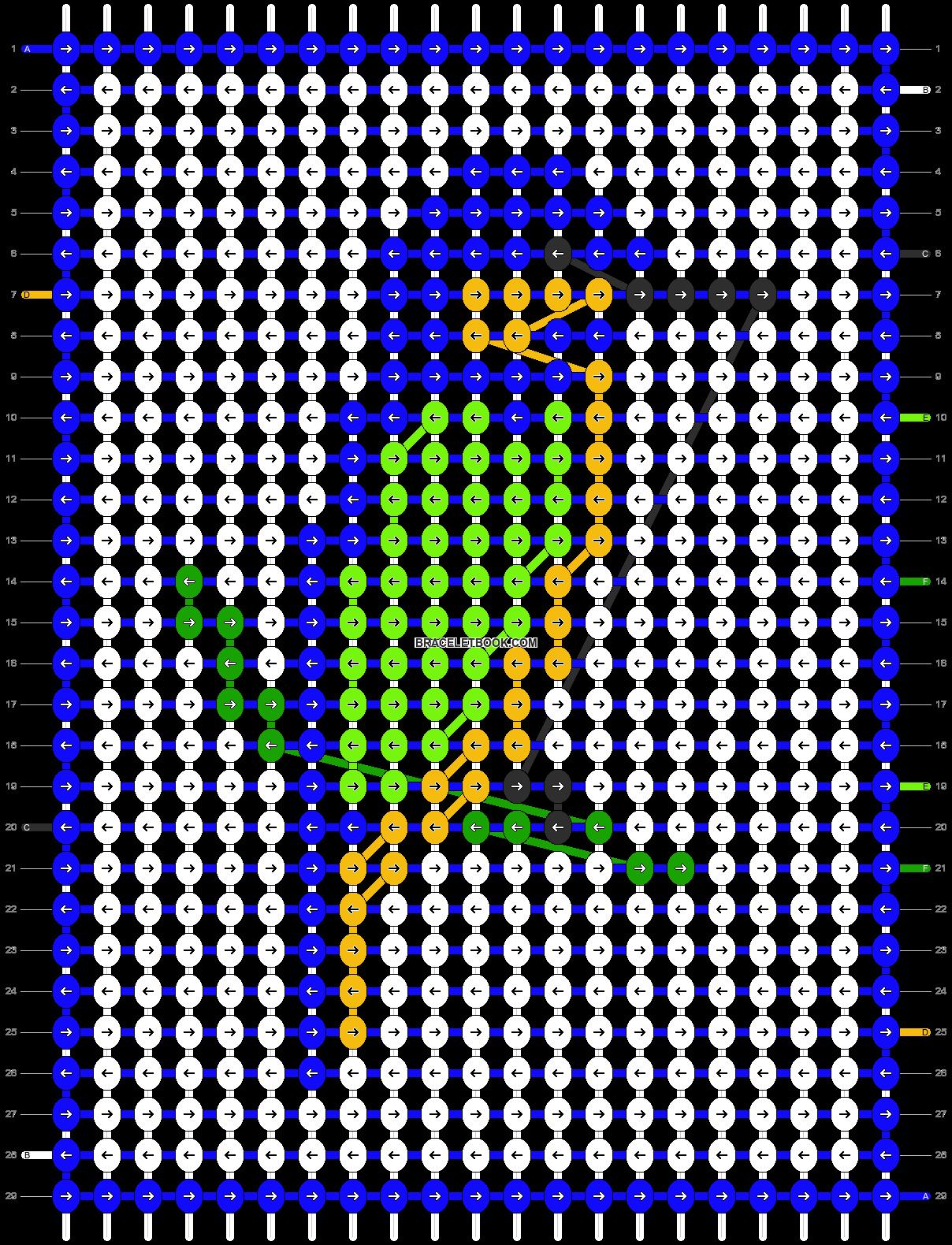 Alpha pattern #8229 pattern
