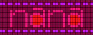 Alpha pattern #8243