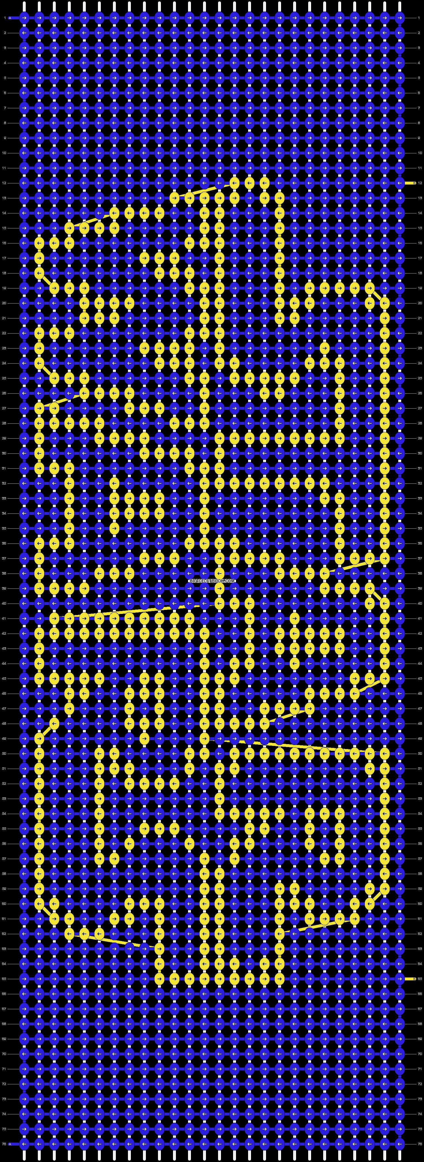 Alpha pattern #8247 pattern