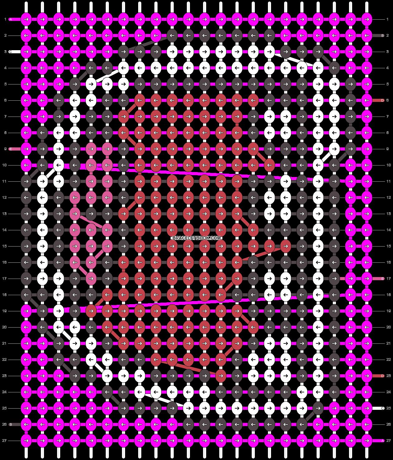 Alpha pattern #8255 pattern