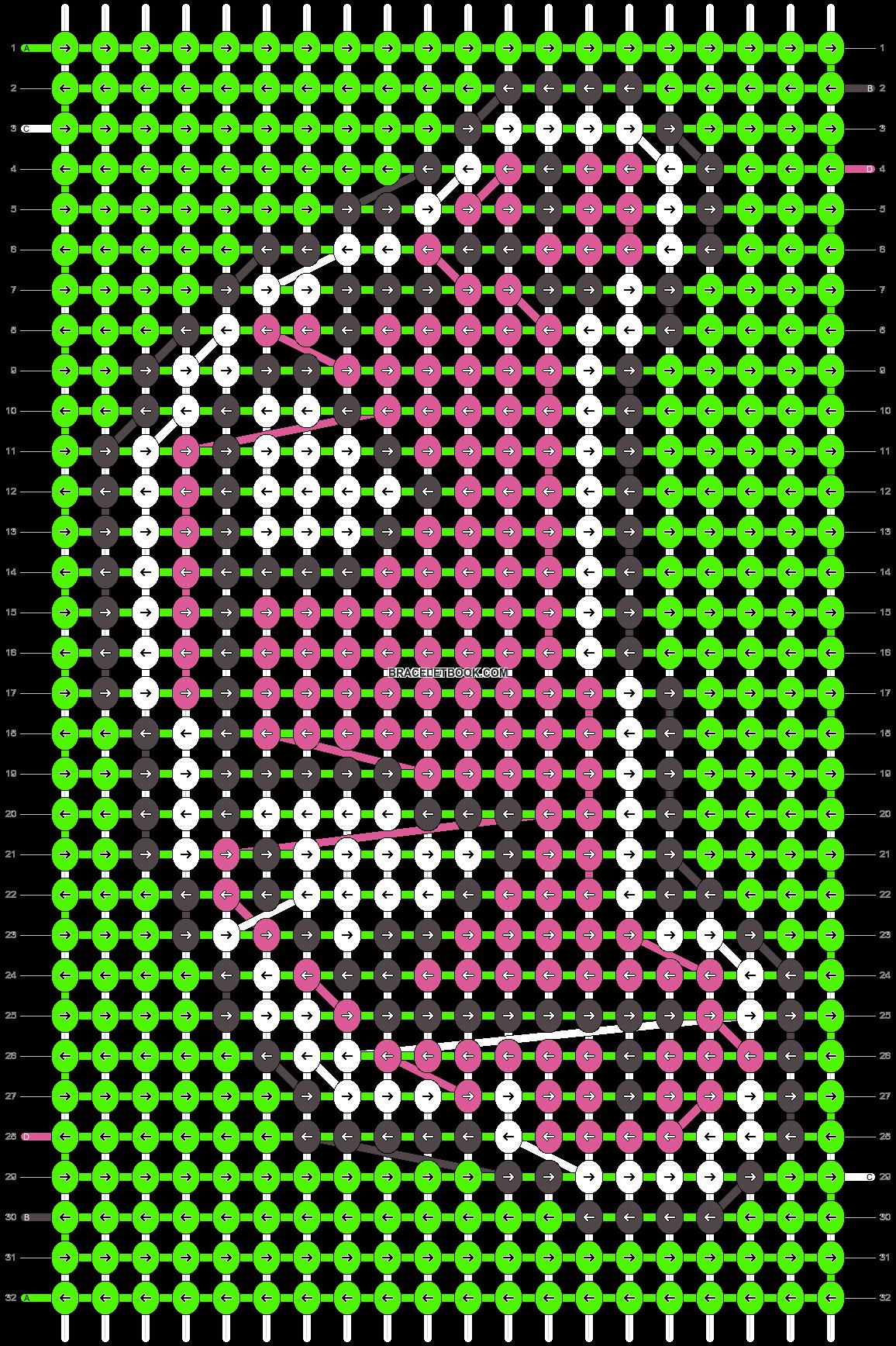Alpha pattern #8256 pattern