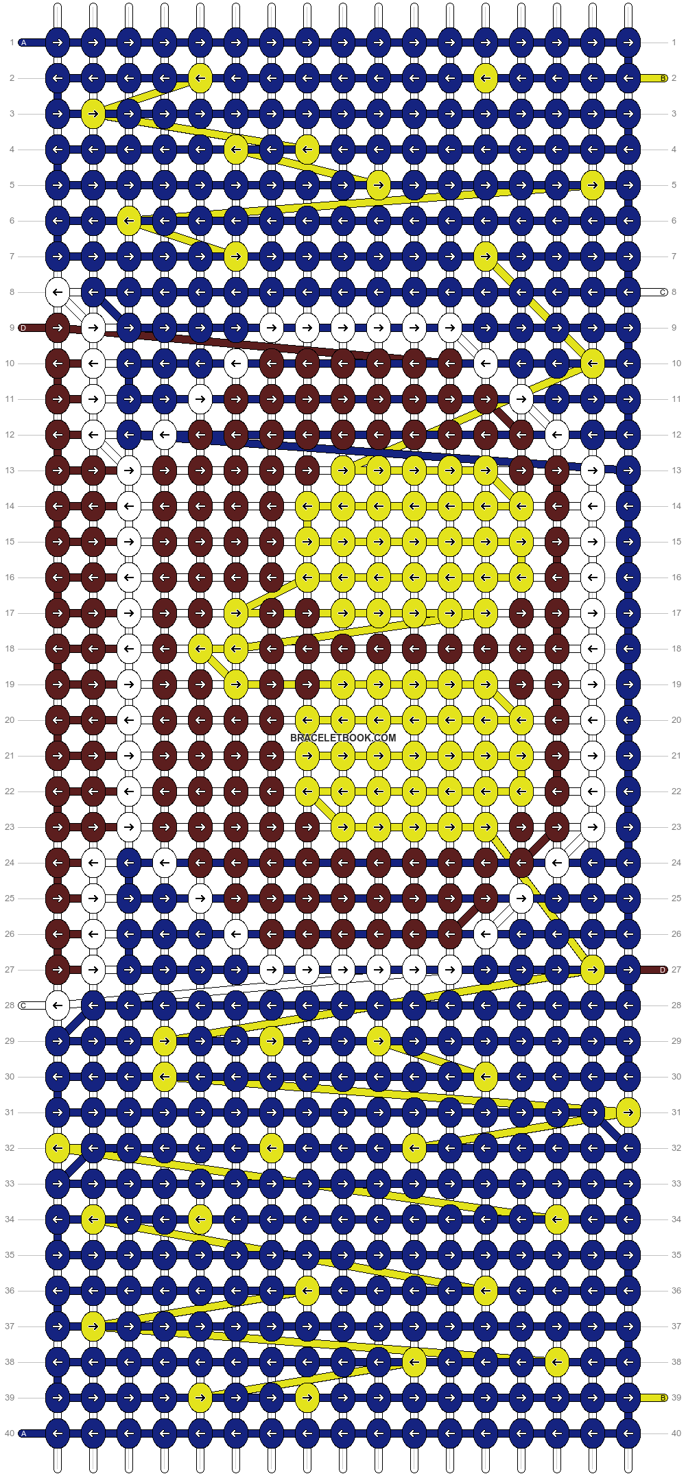 Alpha pattern #8259 pattern
