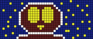 Alpha Friendship Bracelet Pattern #8259