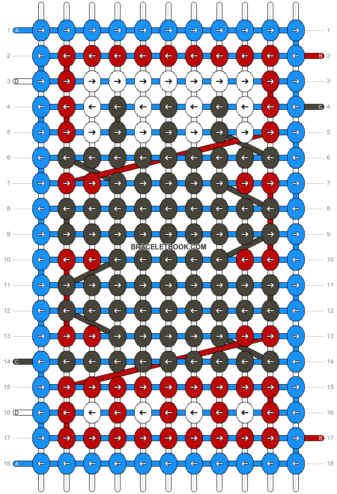 Alpha pattern #8266 pattern