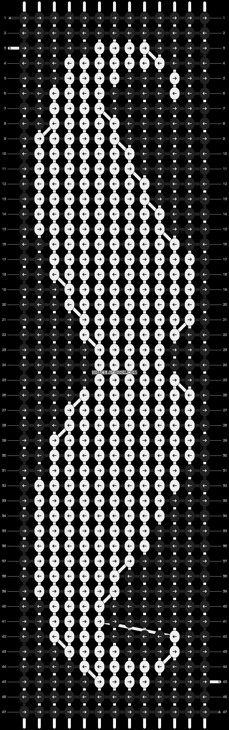 Alpha pattern #8267 pattern