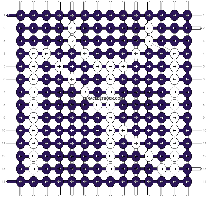 Alpha pattern #8278 pattern