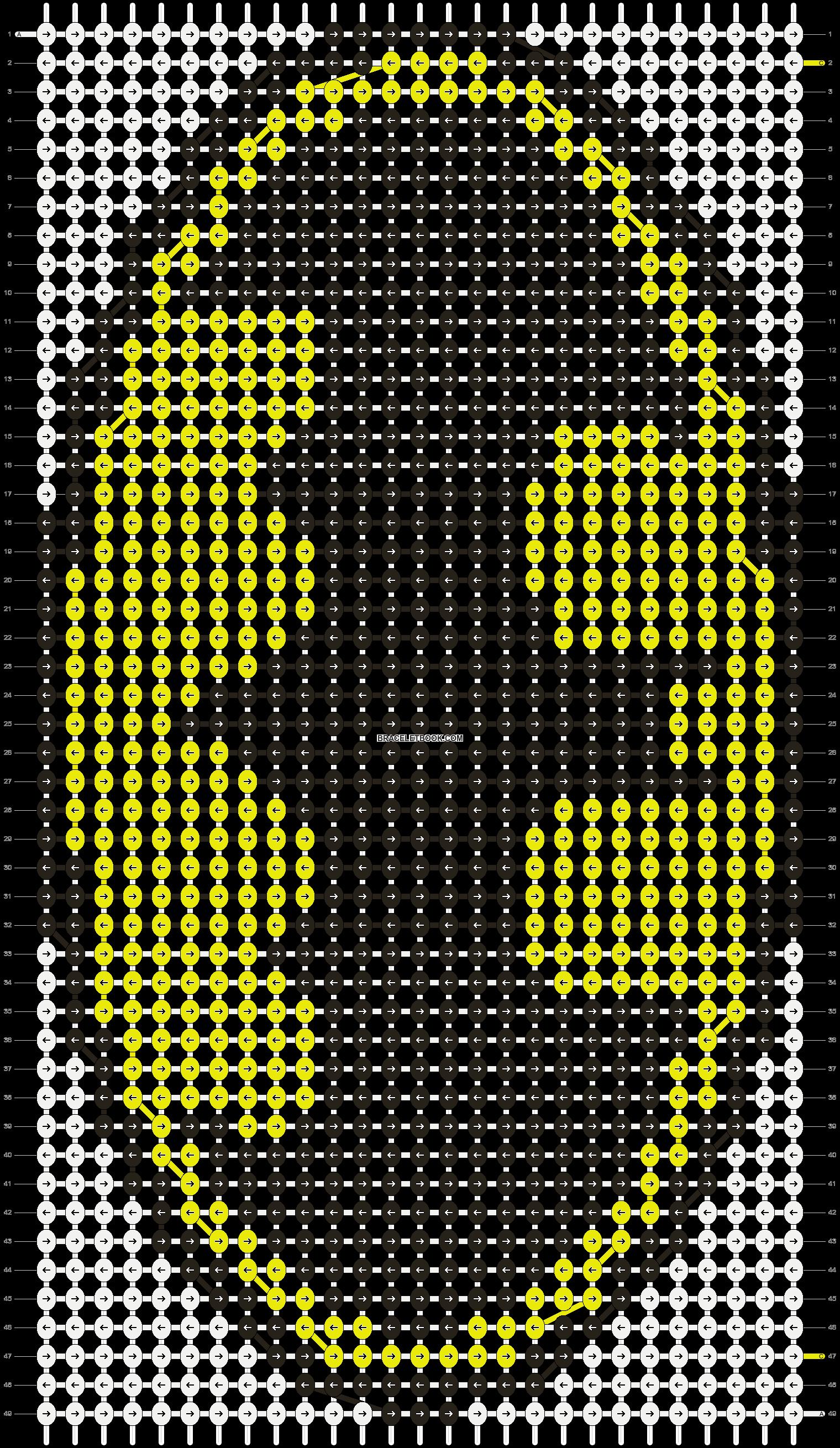 Alpha pattern #8279 pattern