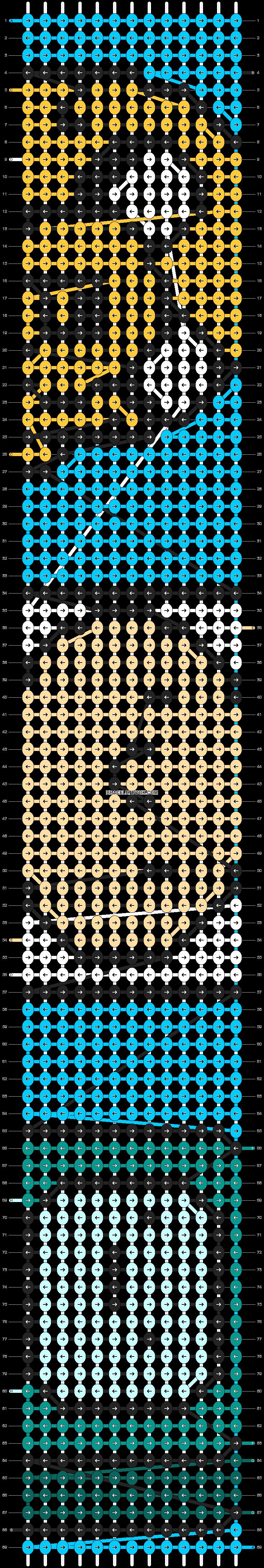 Alpha pattern #8280 pattern
