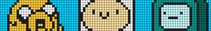 Alpha pattern #8280