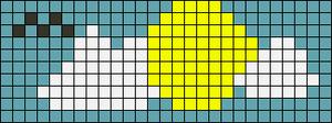Alpha Friendship Bracelet Pattern #8283