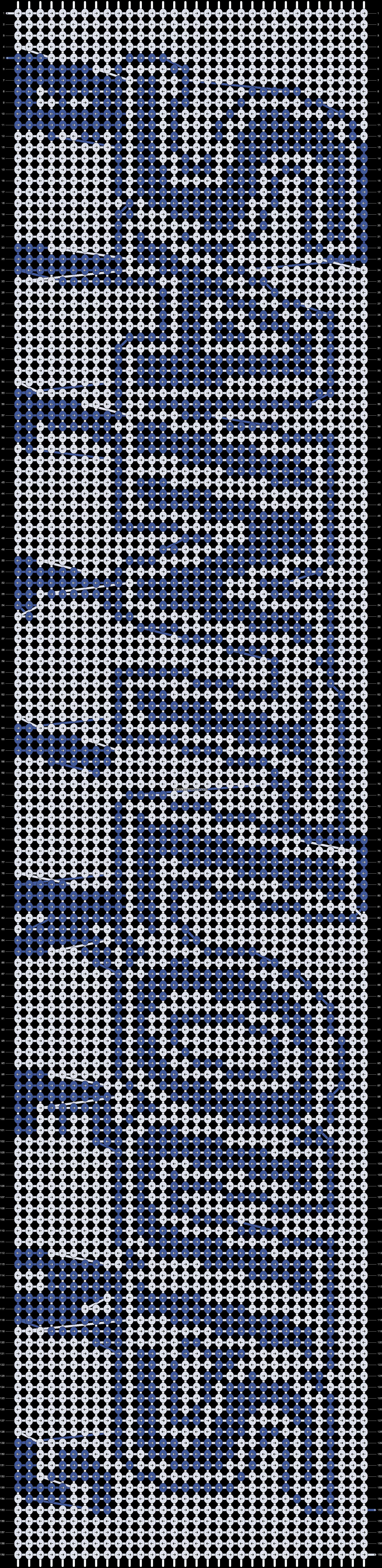 Alpha pattern #8284 pattern